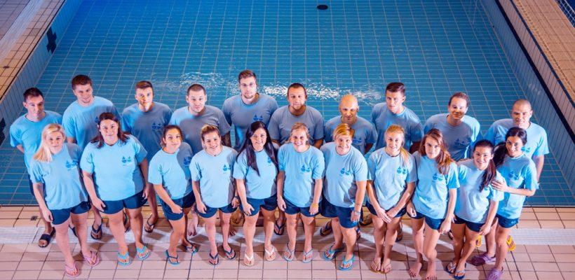 aqua šola plavanja; vrhunski trenerji šporntega društva aqua